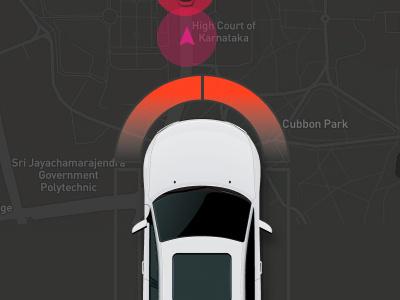 Collision Detected figma dashboard collision car