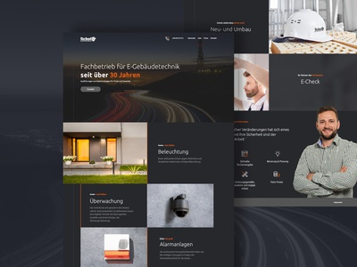 Electrician Company - Website Redesign