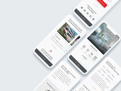 Real Estate Detail Page