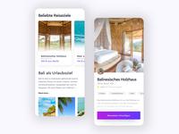 Travel App - Design