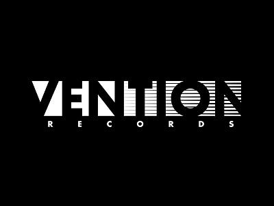 VENTION berlin dubtechno dub record vinyl design logo