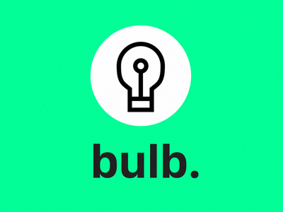 Bulb app assignment tokyo social sns user experience app logo