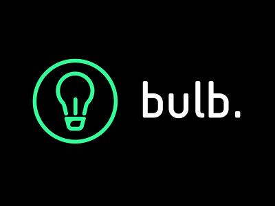Bulb 2.0 connecting idea brainstorm logo design experience user uxd