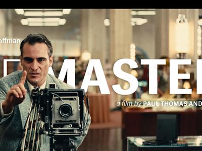 The Master paul thomas anderson siri poster the master film