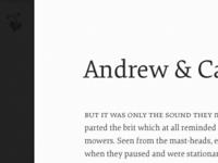 Andrew & C