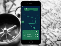 Daily Ui day#20 - Location Tracker