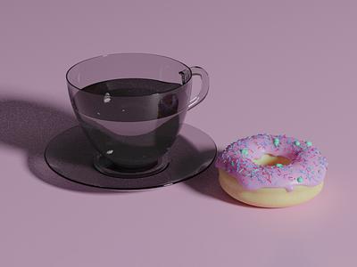 Dougnut V3 beginner blender 3d modeling 3d