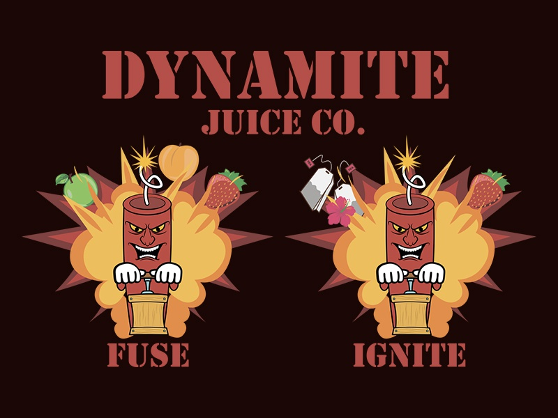 Dynamite Juice By Anton Yeroma On Dribbble