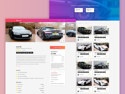 LuxGo webdesign website ui design ux design web illustration ui ux design