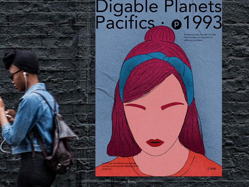 Urban poster poster design graphicdesign typography minimalism clean digitalillustration design digital art illustration