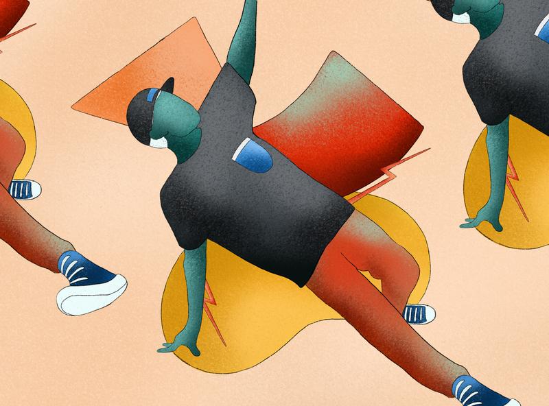 B🤤Y dance web webdesign pattern digitalart ui minimalism clean digitalillustration design digital art illustration