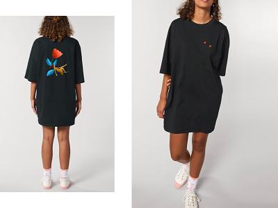 Let it be. streetwear urban dressdesign branding minimalism clean digital art digitalillustration design illustration