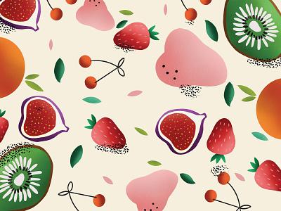 Fruit art homedecor kitchendesign pattern digital art digitalillustration design illustration