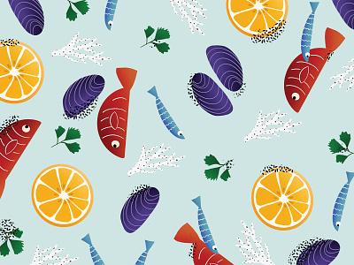 Sea patterndesign pattern ui minimalism clean digital art digitalillustration design illustration