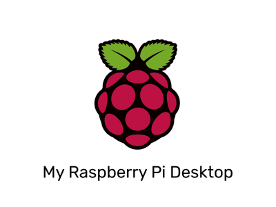 My Raspberry Pi Desktop ssd hardware computer desktop raspberry pi