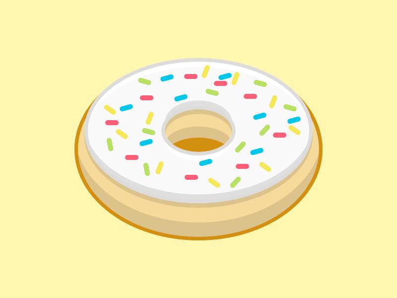 61   sprinkles donut