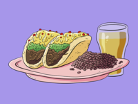 Tacos & Beans