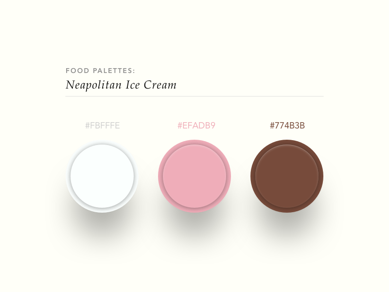 138   neapolitan ice cream