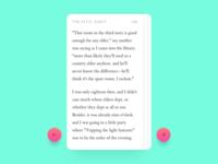 Reading App UI