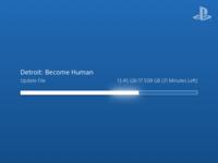 PS4 Download UI