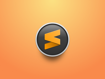 Sublime Text Icon (Circle) sublime circle gradient editor mac app icon icon sublime text