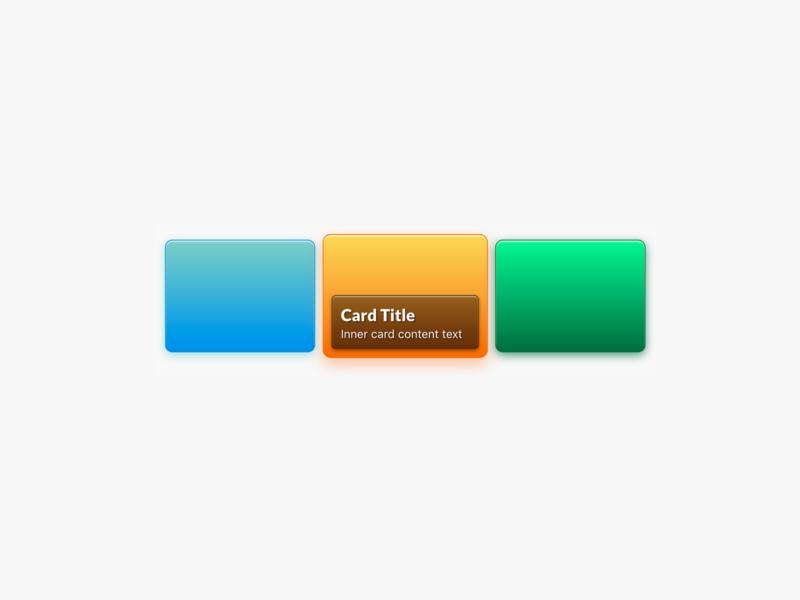 Animated Card Tiles (CSS) depth color flexbox shadow gradient tiles tutorial html css ui card