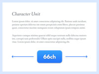 Character Unit (CSS)