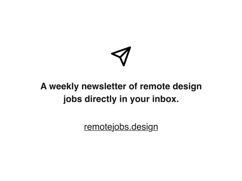 Remote Design Jobs