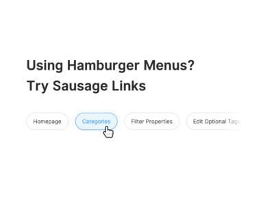 Sausage Links (CSS)