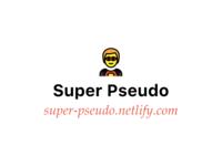 Super Pseudo experiment netlify pseudo html css