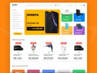 Amazon Redesign Interface