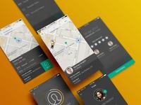 Zirx app screens