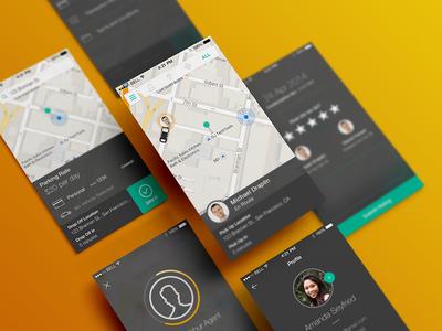 Zirx iPhone App - Rockstar Parking Valet On Demand