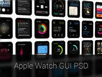 Apple Watch GUI PSD