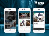 Electronics Store Mobile Commerce Demo App for Twilio