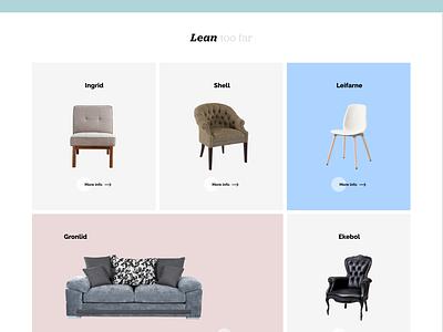 Ecommerce Furniture Store Website Design ui ux animation furniture gif xd adobe adobe xd free download adobepartner madewithadobexd