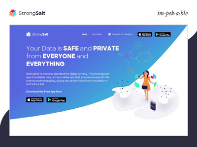 StrongSalt Mobile Responsive Website