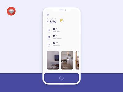 Smart Home IoT Control App Animation Study mobile app smarthome animation iot