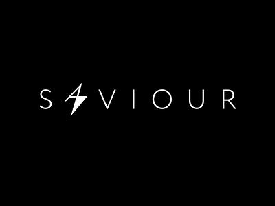 Saviour Power Bank saviour battery electric bolt logo branding