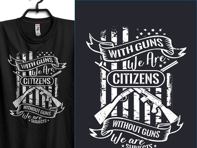 With Guns We Are Citizens Without Guns We Are Subjects