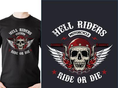 Hell Riders Motorcycle Ride Or Die
