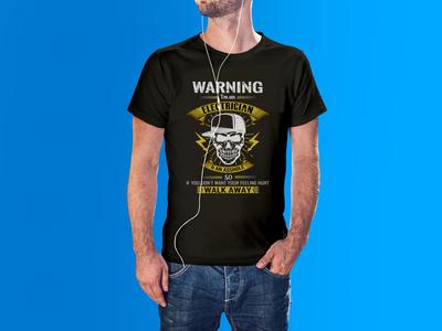 Electrician t shirt design