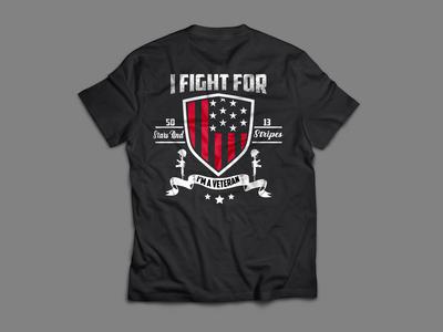 i fight fir 50 stars and stripes