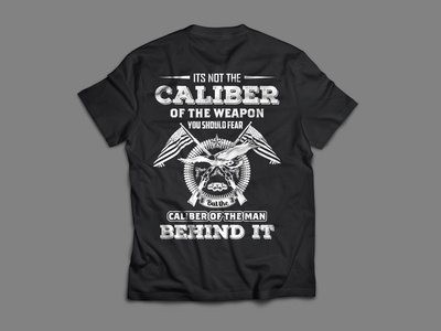 is not  the caliber of the weapon