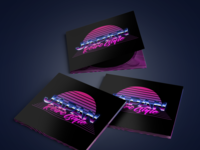 Retrowave Album Cover