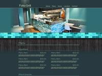 Greek Grill Website