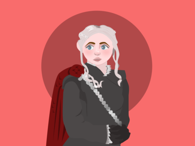 Daenerys - Flat Illustration