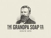 The Grandpa Soap Co. Logo