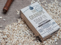 The Grandpa Soap Co. Product Photography