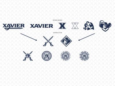 Xavier Athletics Expanded Brand System